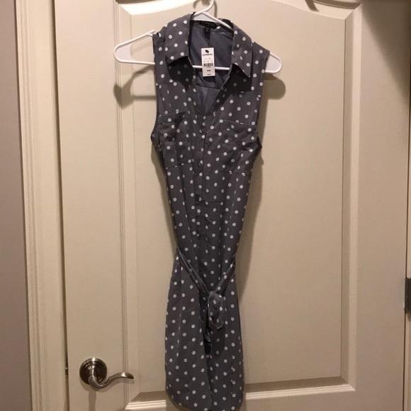 Express Dresses & Skirts - Sleeveless summer dress in grey.